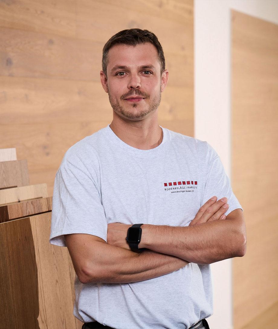 Patrick Businger - Businger Bodenbeläge und Parkett